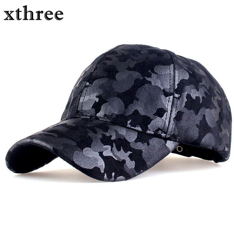 Xthree camouflage baseball-cap armee hysteresenhut für männer Kappe frauen gorra casquette dad hut Großhandel