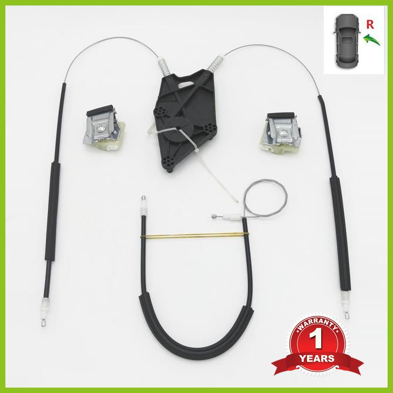For VW Polo Vento 2010 2011 2012 2013 2014 2015 2016 2017 Car-Styling New Electric Window Regulator Repair Kit Front Right Side