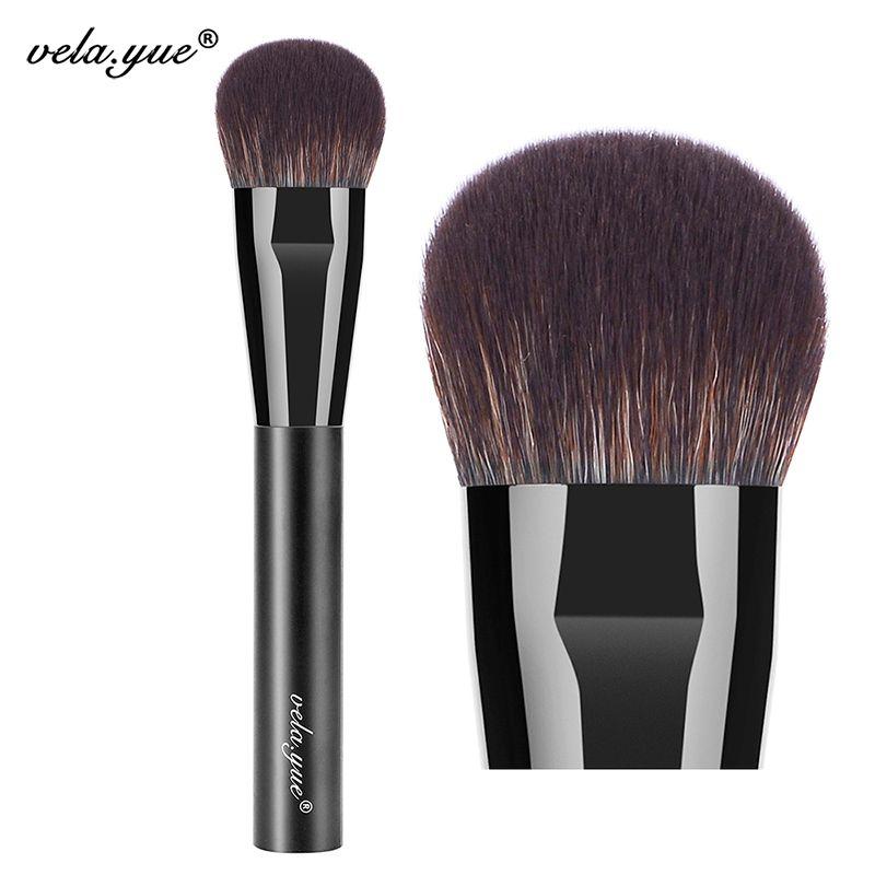 Vela. yue Joue Finition Brosse Visage Blush Surligneur Contour de Mélange Brosse de Maquillage