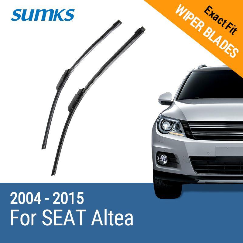 SUMKS Wiper Blades for SEAT Altea 26
