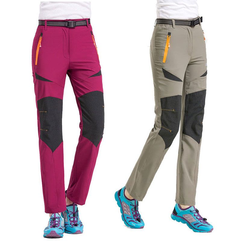 2017 New Women Spring Summer Hiking Pants Sport Outdoor Fishing Climbing Trekking <font><b>Camping</b></font> Trousers Quick Dry Female Pants VB003