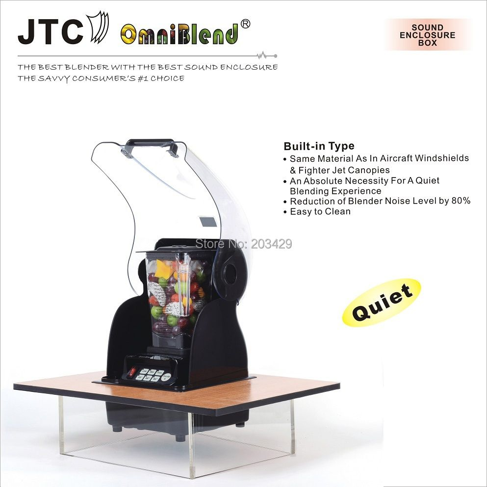 FREE SHIPPING JTC Commercial Blender with Built-in sound enclosure box,Model:TM-800AQ2,100% GUARANTEE NO. 1 QUALITY IN THE WORLD