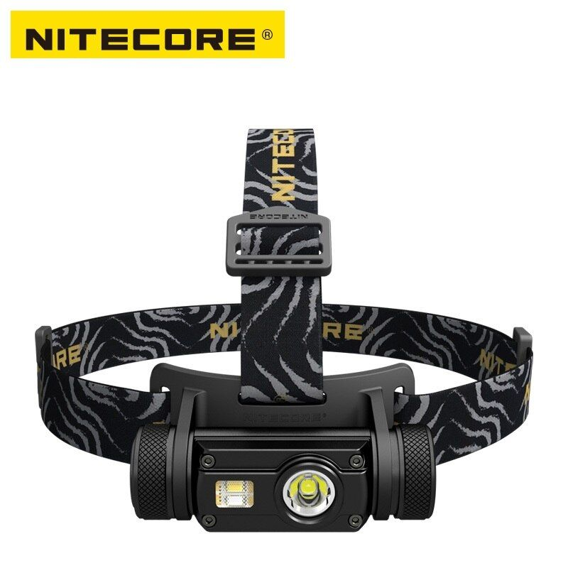 Nitecore HC65 LED Flashlight Cree XM-L2 U2+CRI+RED LED 1000lm USB Rechargeable Headlight