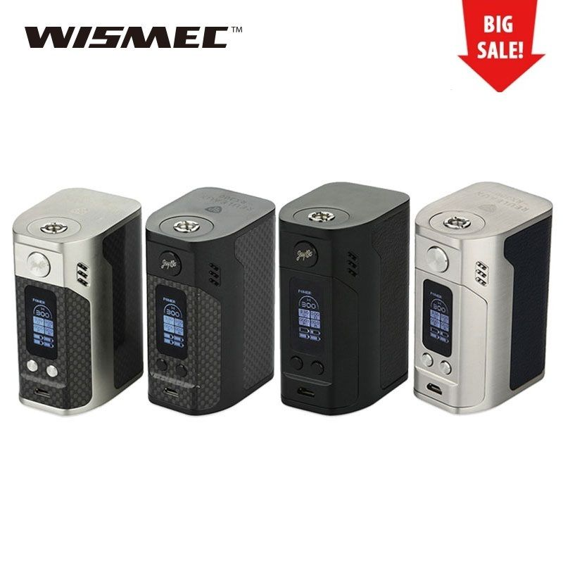 Clearance WISMEC Reuleaux RX300 TC Box Mod Vape Mod 300W rx300 Box Mod NO Battery Electronic Cigarette Vs RX GEN3 / RX200S/RX2/3