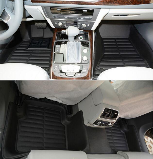 Beste qualität! kundenspezifische sonder fußmatten für Audi SQ5 2015 rutschfeste langlebig Leicht zu reinigen teppiche für SQ5 2017-2013, freies verschiffen