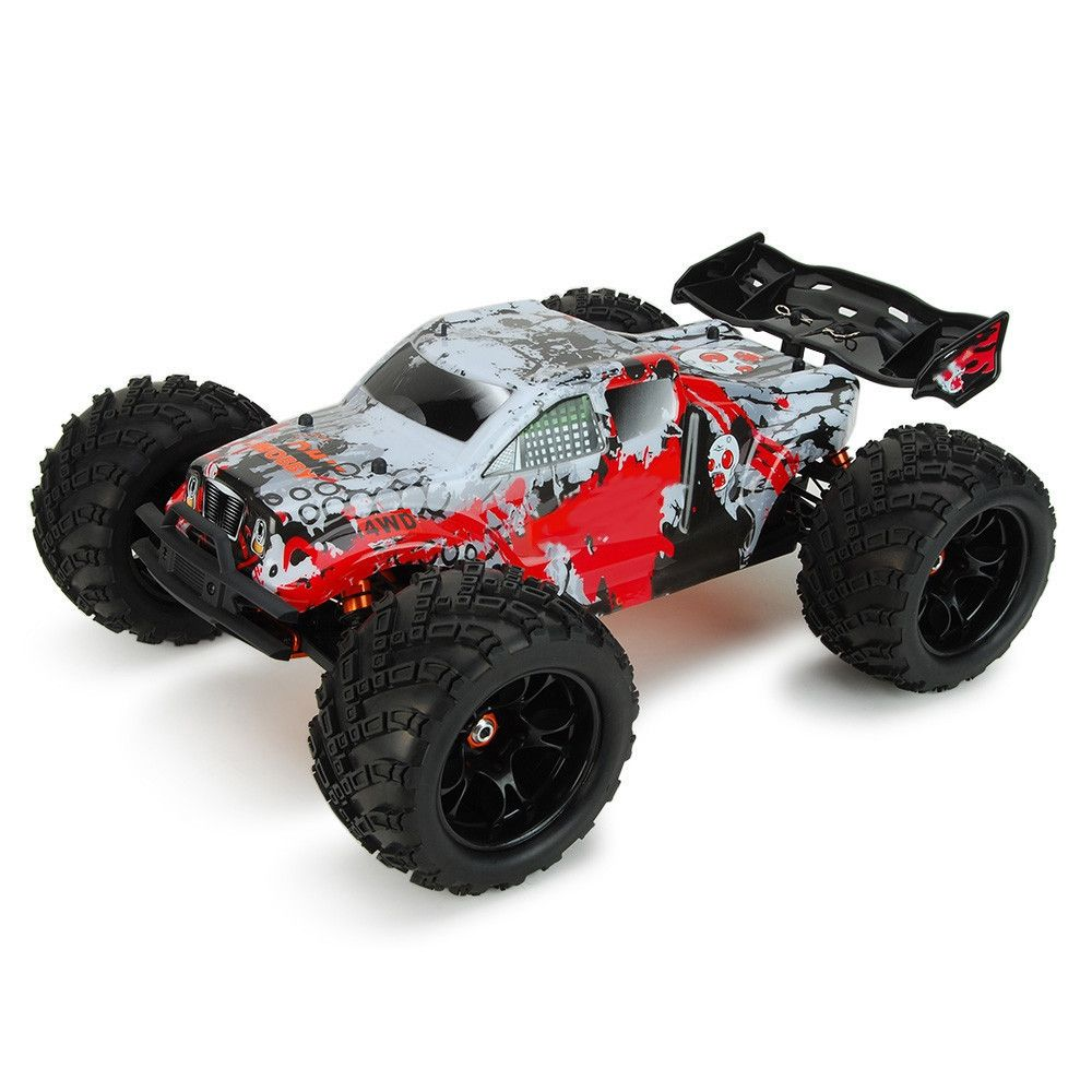 New DHK HOBBY 8384 1:8 4WD Off-road Racing Truck RTR 70km/h Wheelie High-torque Servo RC Car Impact Resistant Monster Truck