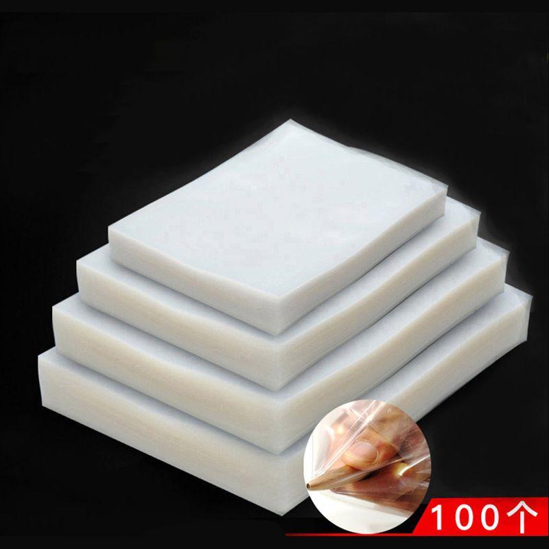 100 PCS/lot Vide scellant paquet sac pour Cuisine Vide joint Machine d'emballage pour garder les aliments Frais d'étanchéité packer De Stockage Sacs