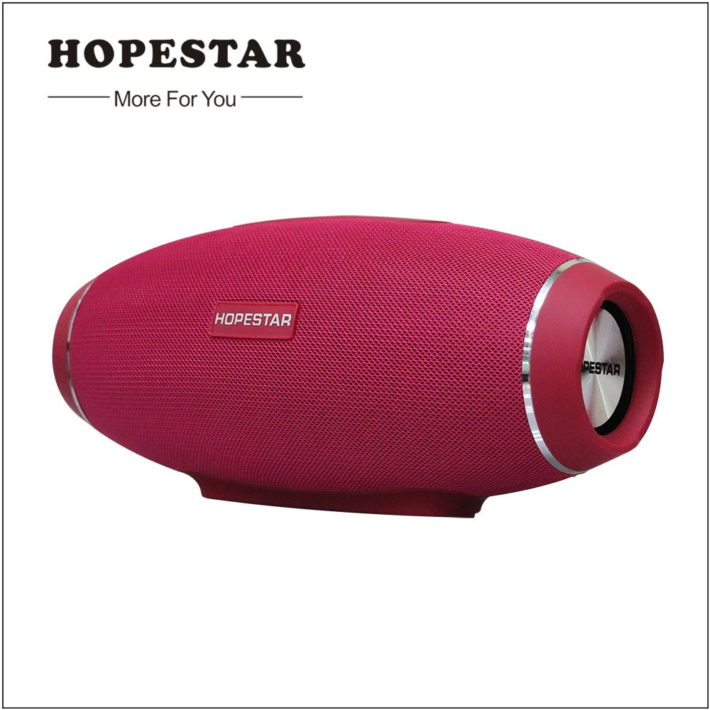 Hopestar H20 Rugby Bluetooth Speaker Wireless Mini Perfect Sound Heavy Bass Stereo Music Player Football Subwoofer for Smarthone
