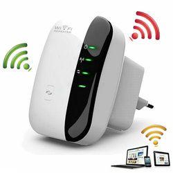 Wireless-n wi-fi repetidor 802.11n/B/G Red Wi Fi routers 300 Mbps range expander amplificador de señal wifi AP WPS cifrado