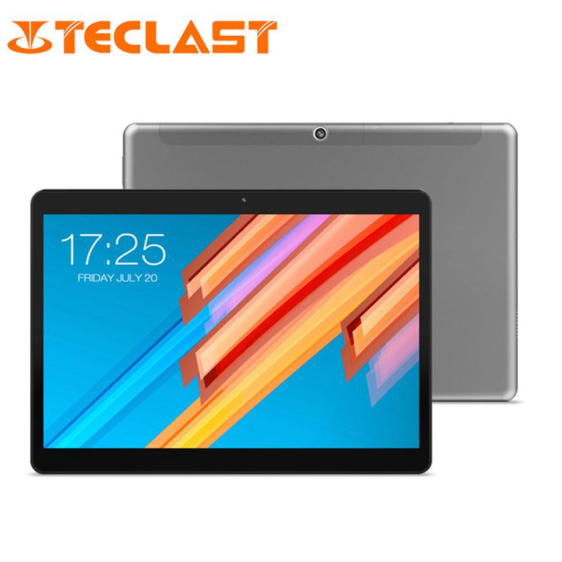 10.1 inch 2560*1600 Tablet PC Teclast M20 MT6797 X23 Deca Core Android 8.0 4GB RAM 64GB ROM Dual 4G Phone Tablets Dual Wifi