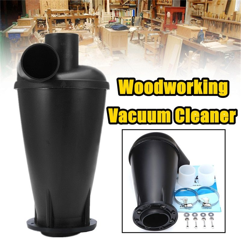 Cyclone SN50T3 Industrial Extractor Dust Collector Woodworking Vacuum Cleaner Filter Dust Separation Catcher Turbo With Flange