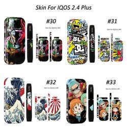 18 Colors 3M Printing PVC Material IQOS Skin For IQOS 2.4 IQOS 2.4 Plus Sticker Case Sleeve Antidust Decorative Protective Cover