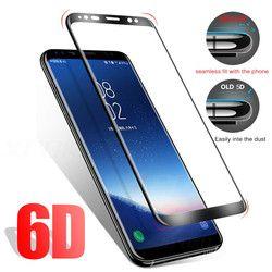 6D Courbe Pleine Couverture En Verre Trempé Pour Samsung Galaxy S9 S8 Plus Note 8 Écran Protecteur Film Pour Samsung S9 S7 S6 Bord En Verre