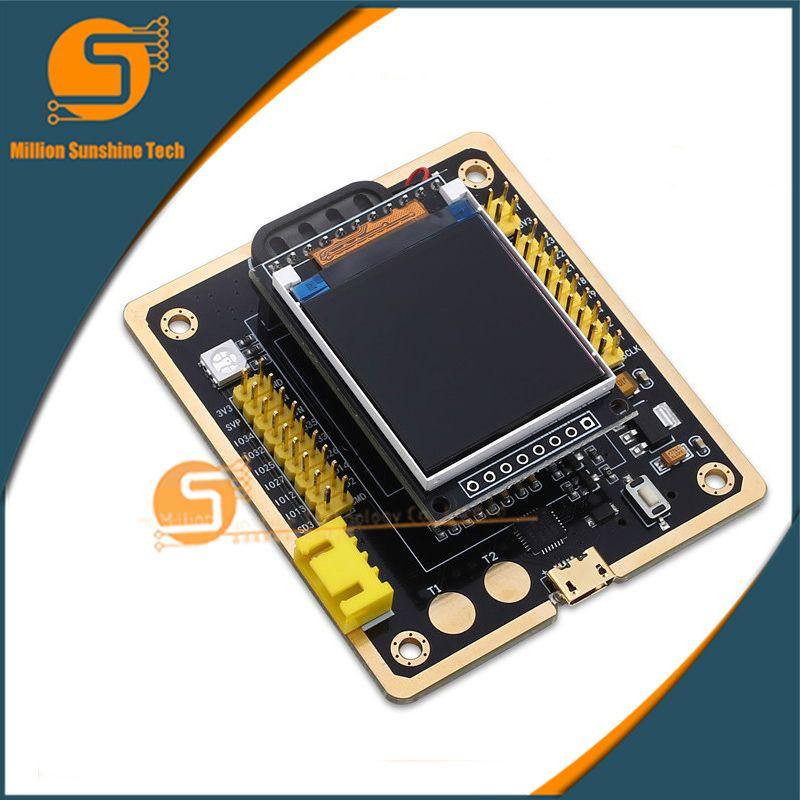 Carte de développement de ESP-32F WiFi + Bluetooth Ultra-faible consommation d'énergie double coeur ESP-32 ESP-32F ESP32 similaire M5Stack pour Arduino
