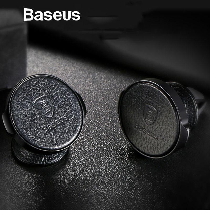 Baseus Magnetische Auto Telefon Halter 360 Grad Handy Halter Für iPhone Samsung GPS Air Vent Halterung Auto Halter Stehen halterung