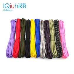 IQiuhike 208 Colors 550  Parachute Cord Lanyard Rope Mil Spec Type III 7Strand 5Meters Climbing Camping Survival Tool