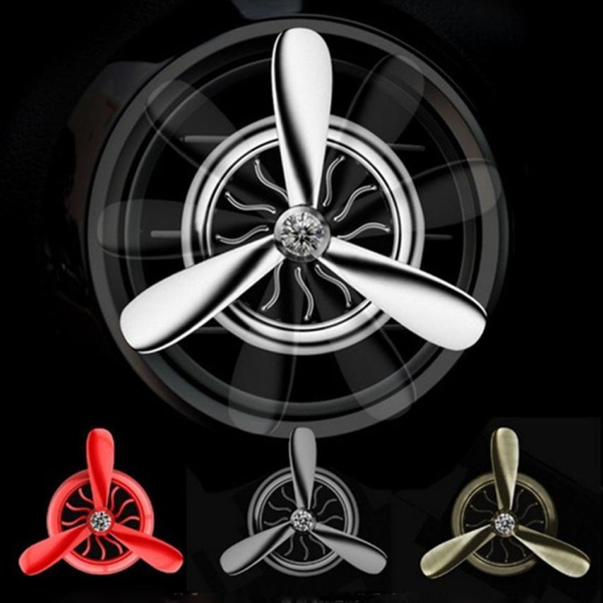 Car Interior Perfume Diffuser Air Force 3 Propeller Shape Air Freshener Vent Clip Car Decor Car Electronics Perfume Diffuser
