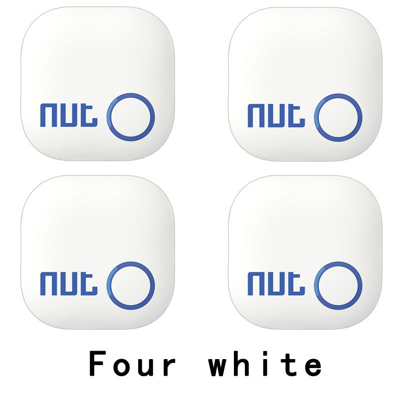 4Pieces Nut 2 Smart Key Finder itag Bluetooth Tracker Locator Luggage Wallet Phone Key Anti Lost Reminder Update from Nut mini