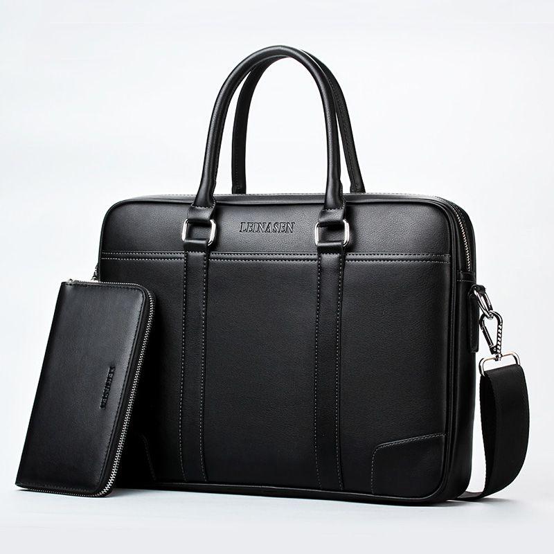 Brand business briefcase laptop handbag men shoulder Messenger bags Designer briefcase High capacity Crossbody bag travel bags
