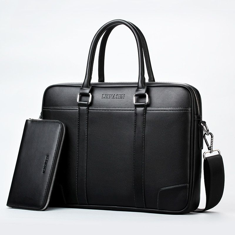 Brand business briefcase laptop handbag men shoulder Messenger bags Designer briefcase High capacity Crossbody bag travel bags