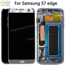 For SAMSUNG GALAXY S7 EDGE G935 G935F LCD Display Touch Screen Digitizer 5.5