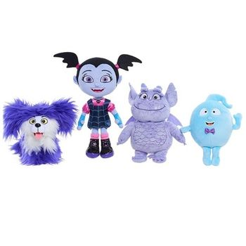 Plush  Monster Junior Vampirina The Vamp Bat Girl Stuffed &Animals Toys Doll