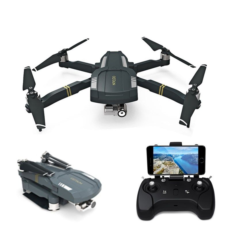 C-FLY OBTAIN Foldable RTF RC Quadcopter GPS WiFi FPV 1080P HD Drone with Camera 3-axis Stabilization Gimbal Follow Me Mode