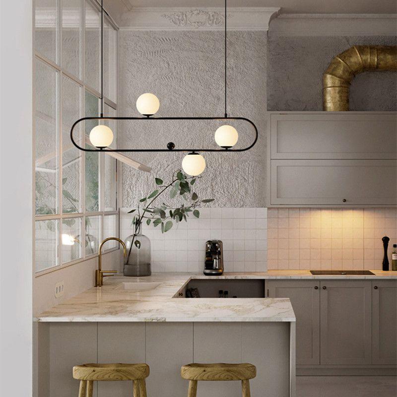 Nordic Designer Loft Cafe Led Pendant Light Retro Industrial Geometry Creative Dining Living Room Hanging lights Free Shipping