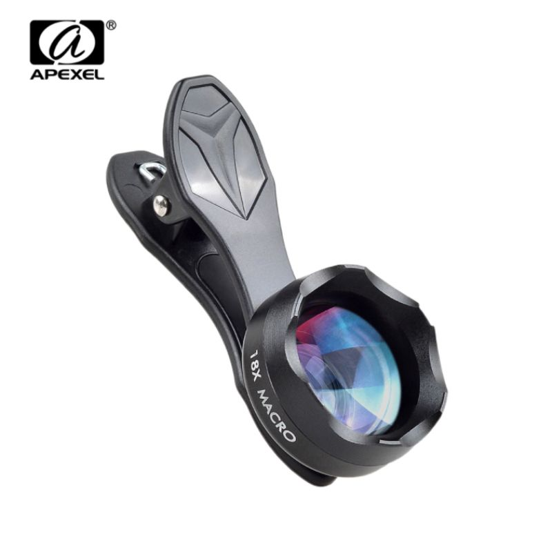 2017 Universal Clip on HD 18X Macro Lens Photography Mobile Phone Lens For iPhone 5s 6S 7 Xiaomi RedMi Samsung HTC Camera Lens