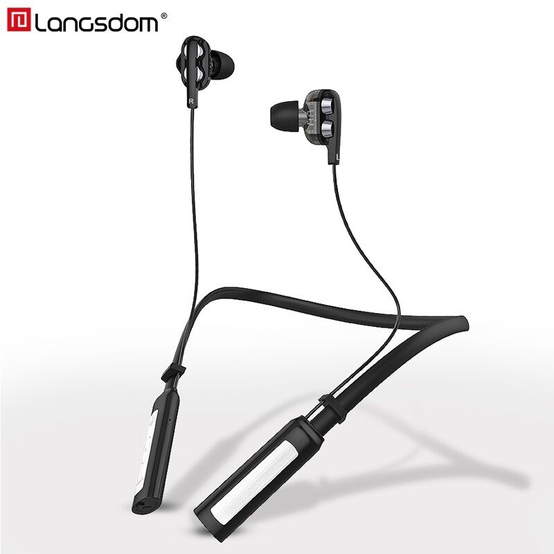 Langsdom LD4 Sports Wireless Earphone CSR 4.2 Bluetooth <font><b>Headphone</b></font> with Mic IPX5 Wireless Headset Stereo Earbuds for phone xiaomi