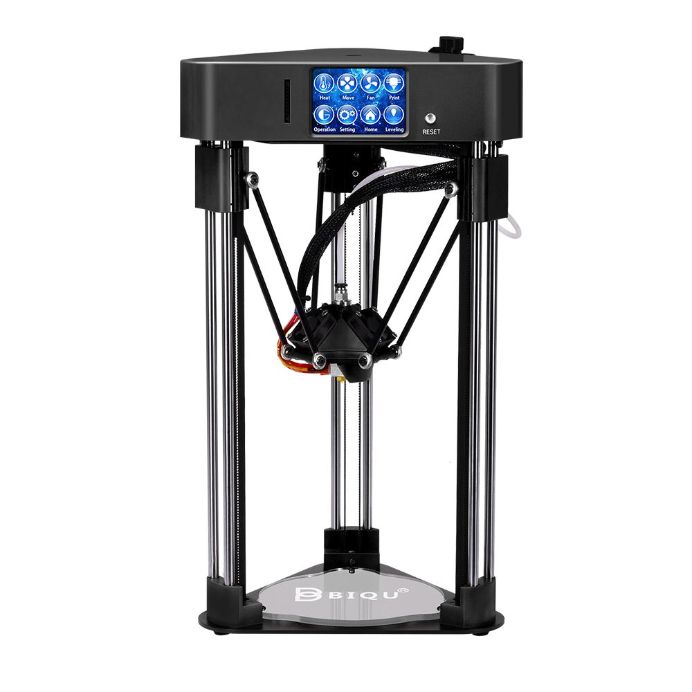 BIQU 3D printer BIQU Magician High precision Mini kossel Desktop impressora Fully Assembly with Power off resume 3D printer