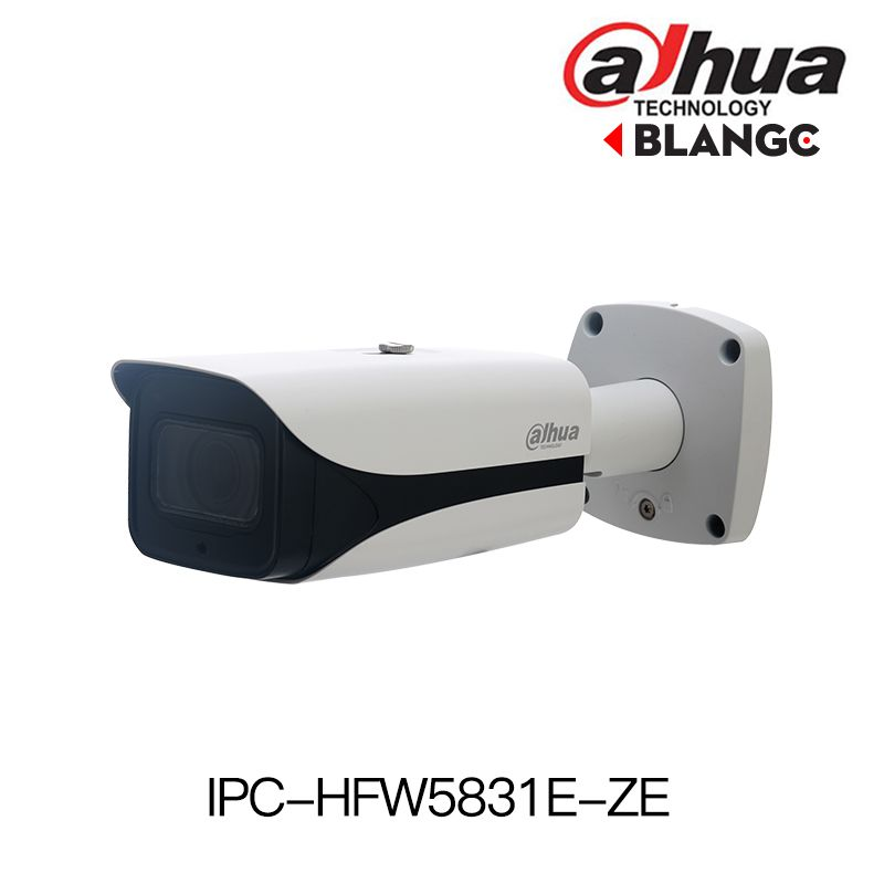 Dahua IPC-HFW5831E-ZE 8MP 4K POE WDR IR Bullet IP Camera 2.7-12mm motorized lens replace IPC-HFW5831E-Z Audio outdoor IP camera