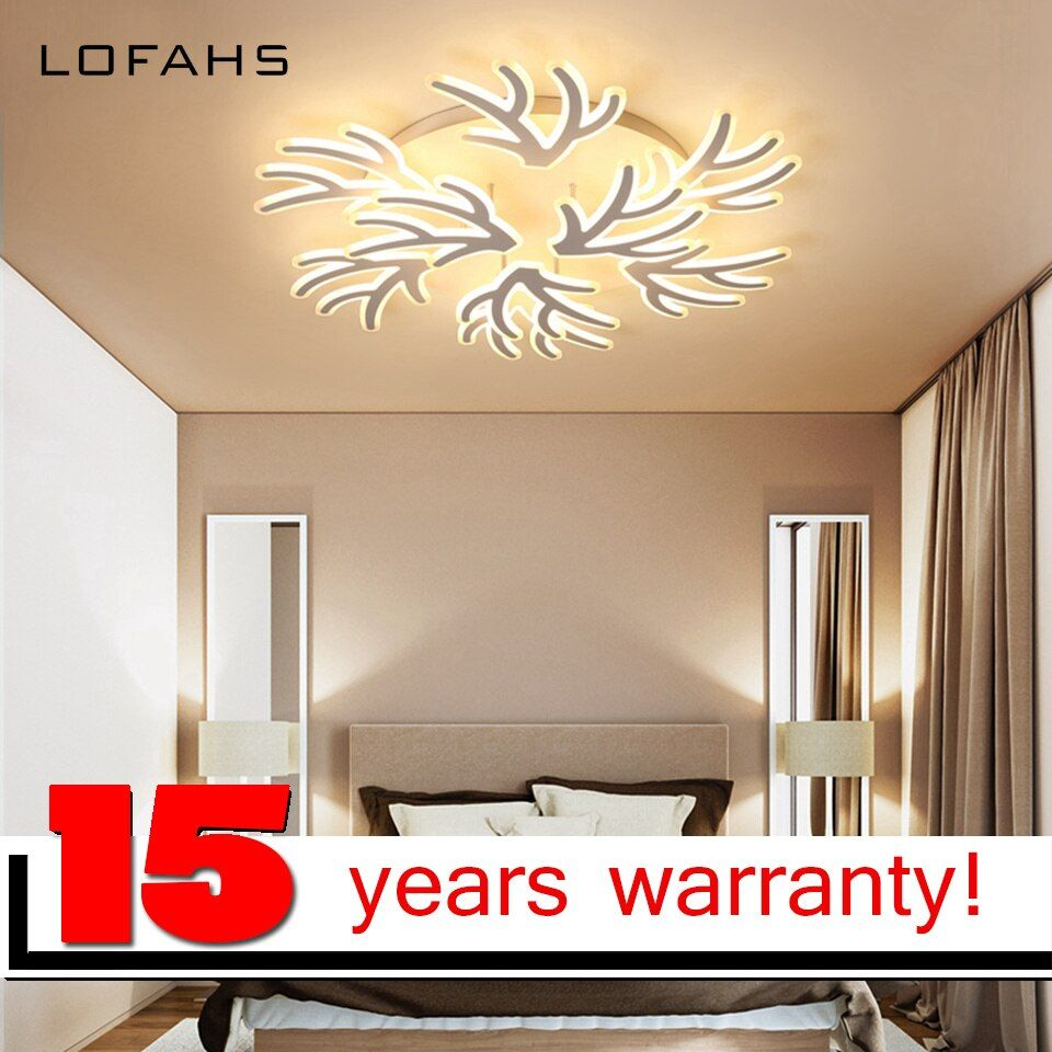 LOFAHS chandelier luxury Large high brightness LED chandelier Remote lighting fixture abajour luster for living room salon