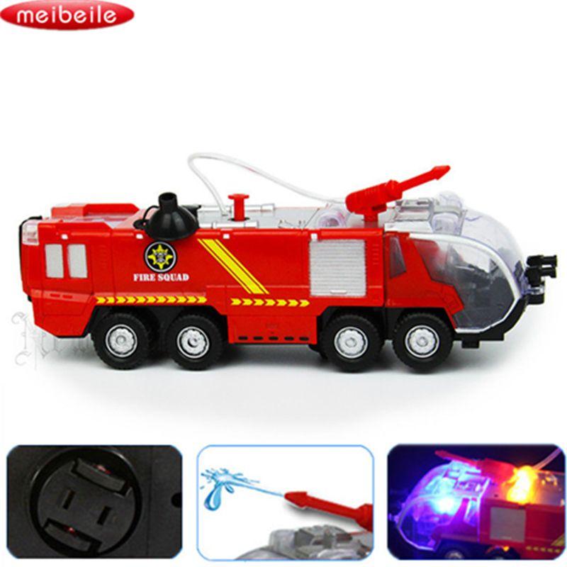 Pistolet à Eau Jouet Camion Sam Le Pompier Camion De Pompier Véhicules Musique Légère Voiture Cool Jouets Éducatifs pour Enfants Garçons Camion De Pompier juguetes