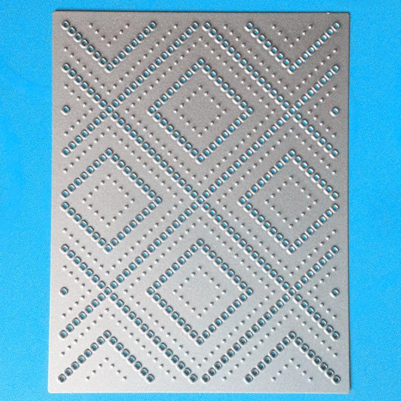 Ylcd1072 Fondos metal Recortes de papel para scrapbooking stencils DIY álbum tarjetas decoración Relieves de papel carpeta artesanía die cuts nuevo