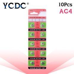 YCDC Gros 10 PCS/lot = 1 cartes AG4 377A 377 LR626 SR626SW SR66 LR66 bouton cellulaire Regarder Coin Batterie, TIANQIUBrand Batterie