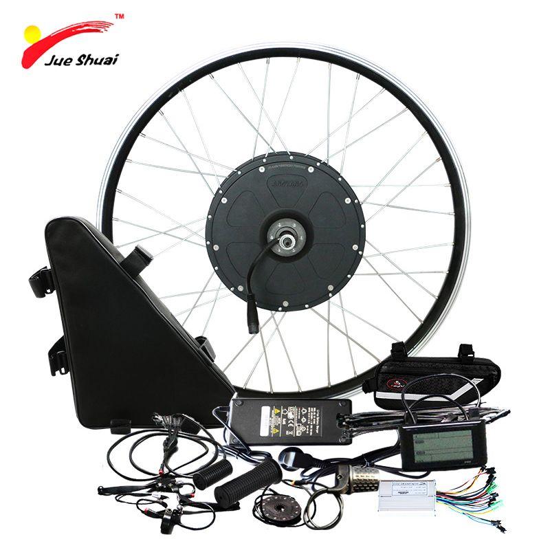 Poweful 48V 1000W Elektrische Bike Kit mit 20ah Lithium-Batterie Bürstenlosen Motor Rad DIY für 20 26 700C Ebike Elektronische Kit