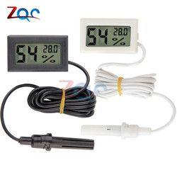 Mini LCD Digital Thermometer Hygrometer Temperature Temperature Humidity Meter Instruments Indoor Moisture Measurment Monitor