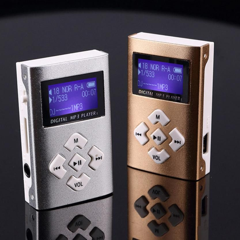 HIPERDEAL USB Mini MP3 Player LCD Screen Unterstützung 8 gb Micro SD TF Karte Drop Shipping 1M30