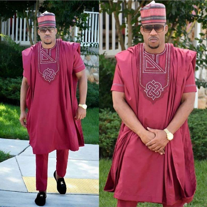 H&D african men clothing 2018 3 pieces set mens dashiki shirt africa bazin riche outfit clothes dress tops pant suits africain
