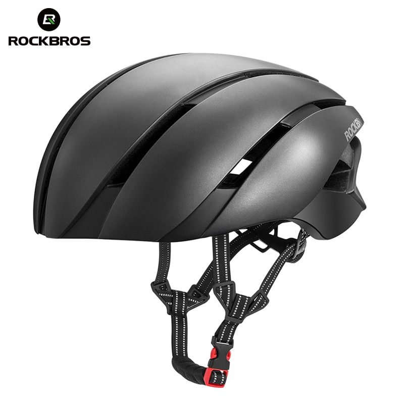 ROCKBROS Ultraleicht Fahrrad Helm EPS Integral geformten Radfahren Fahrrad Helm Reflektierende Sport Sicherheit Reiten Camping Ski Helme