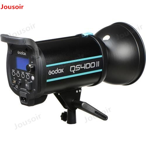 Godox QSII Series QS400II 400Ws Strobe Flash Modeling Light, 5600K Color Temperature CD50