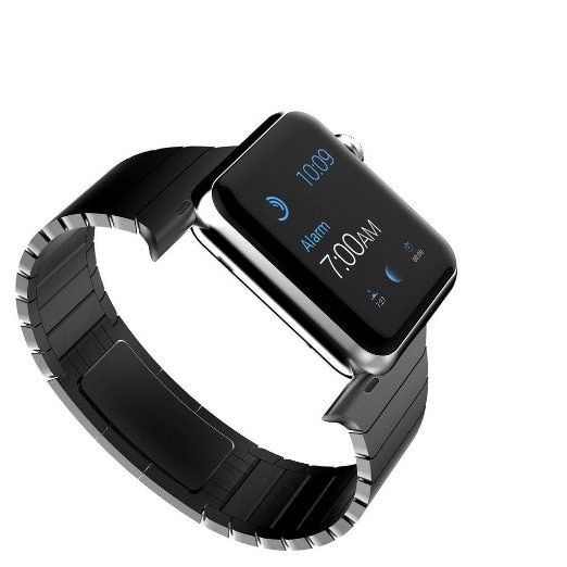 For Apple Watch Premium 316L Luxury Stainless Steel iWatch Strap 1:1 Original Buckle Watchband With Adapter Connector