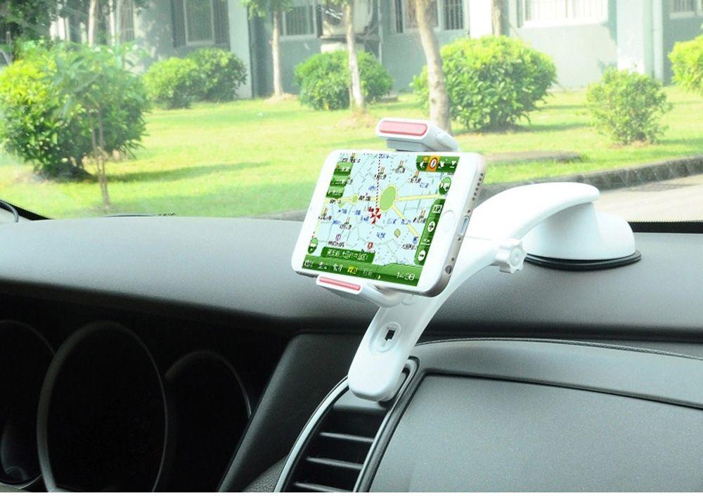 Car Air vent Clip Fenêtre Aspiration Dashboard Stand Cellulaire Téléphone Supports de Support de voiture Pour Xiaomi Mi Mix, Mi Note 2, ZTE Projet CSX