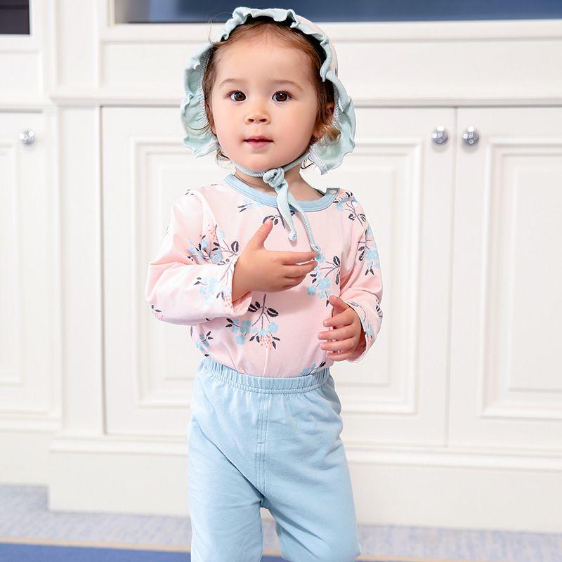 2018 Nouvelle arrivée multicolore Garçons Filles Vêtements À Manches Longues adorable coton de Bébé Ensembles MR201-MR214