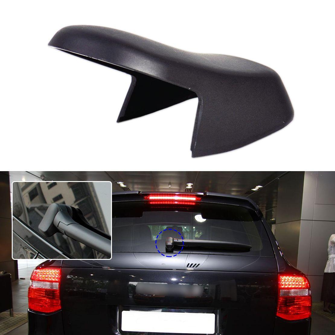 DWCX Car Rear Wiper Arm Base Cover Switch Cap Replacement 95562832000 fit for Porsche Cayenne 2004 2005 2006 2007 2008 2009 2010