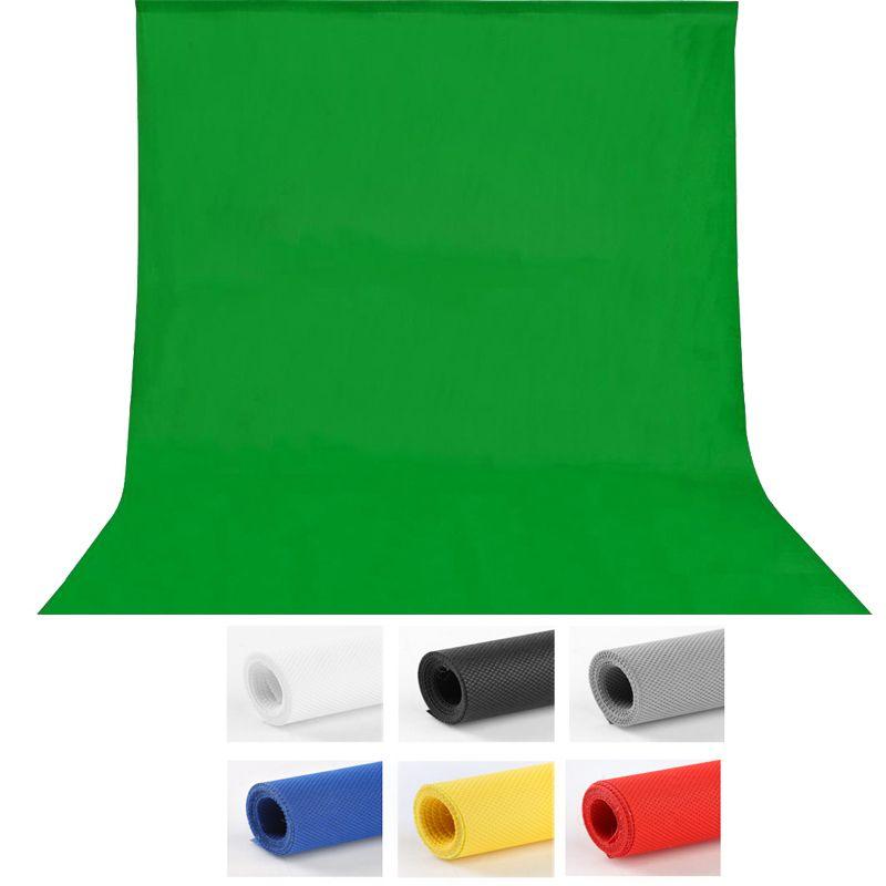 1.6X3 m fotografia Photographie studio Vert Écran Chroma key Fond Toile de Fond pour Studio Photo éclairage Non Tissé 7 couleurs