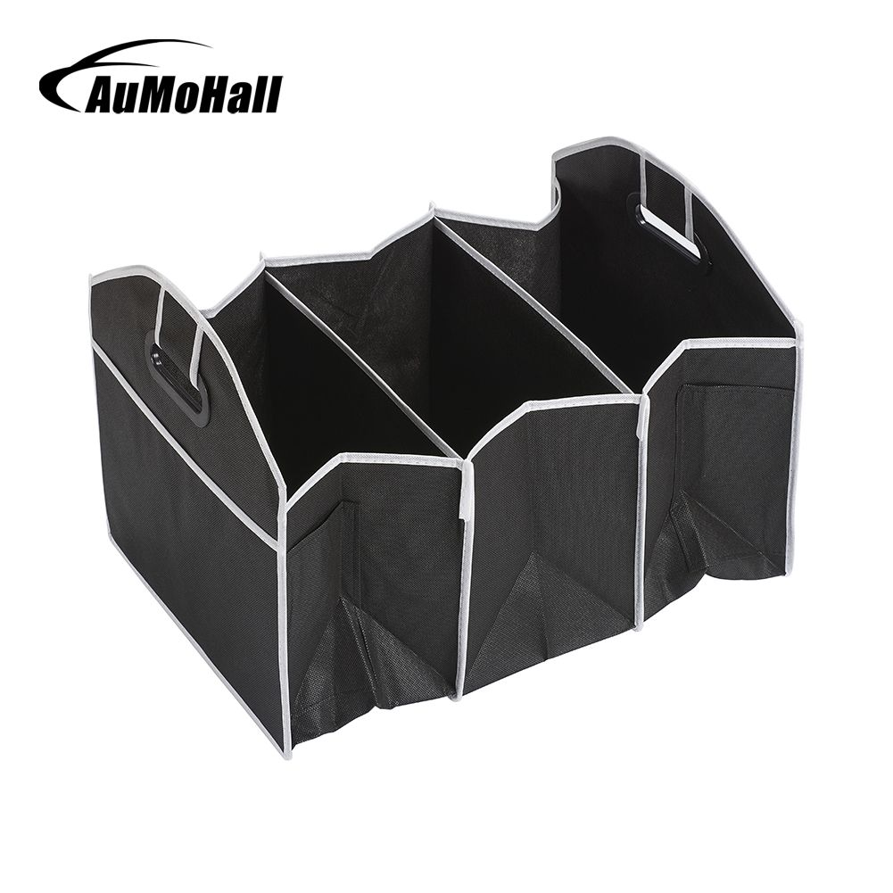 AuMoHall Car Multi-Pocket Organizer Large Capacity Folding Storage Bag Trunk Stowing and Tidying