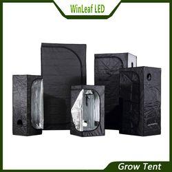 Crece la tienda para hidroponía invernadero iluminación Tiendas de campaña 80/100/120/150/240/300 tienda de cultivo