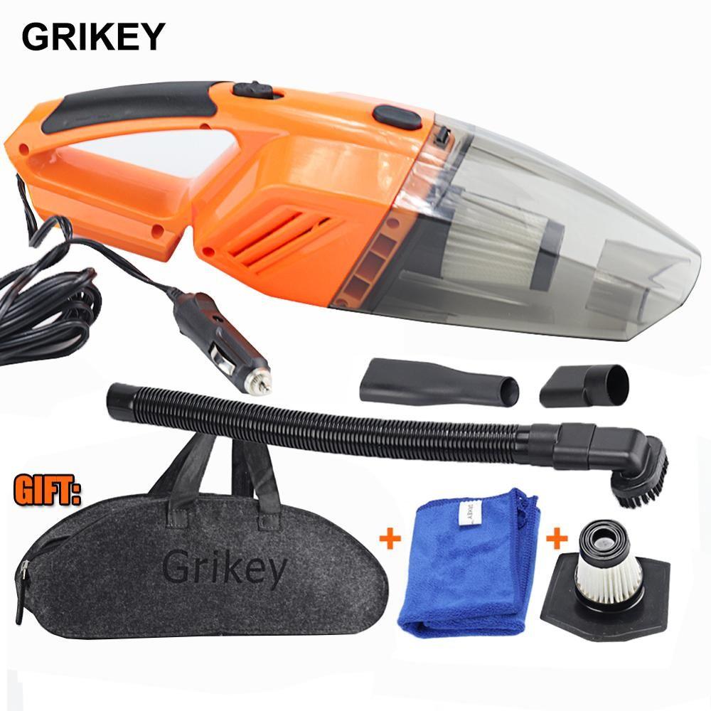 Car Vacuum Cleaner 120W Portable Handheld Vacuum Cleaner Auto Wet/Dry Car Vacuum Hand Vac HEPA Filter 12-Volt